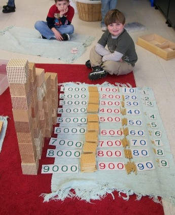 Kids Playing Number Game